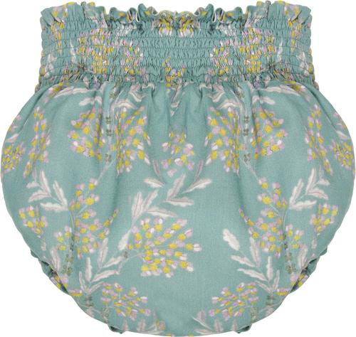 Bonnet a Pompon Блумеры с букетом цветов