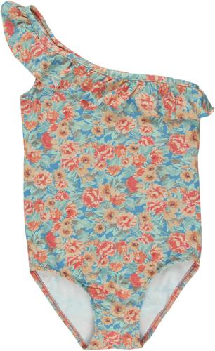 Bonnet a Pompon Купальник в цветочек
