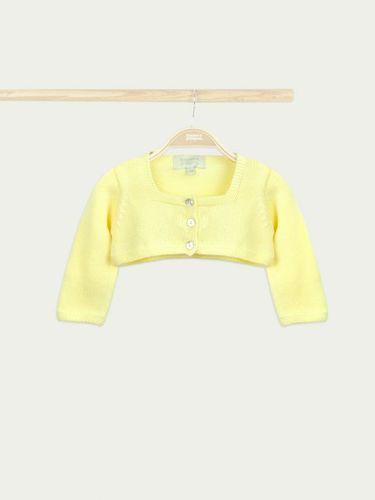 Bonnet a Pompon Болеро желтый