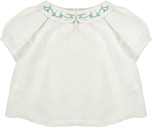 Bonnet a Pompon Блузка в мелкий цветочек