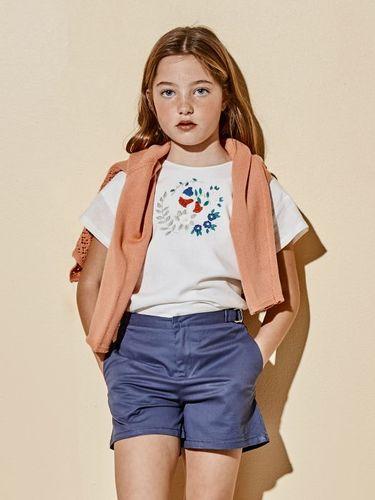Bonnet a Pompon Блузка с вышивкой