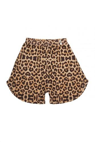 POPUPSHOP Юбка-шорты леопард