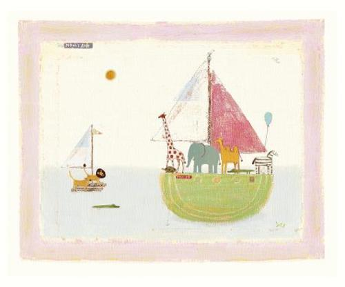 "Maileg Постер ""Noahs Cruise"""