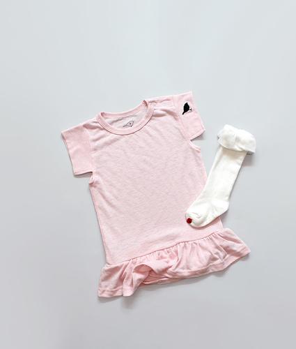 Kokacharm Розовое платье-боди