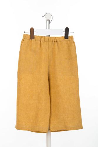 FUFA Льняные свободные брюки