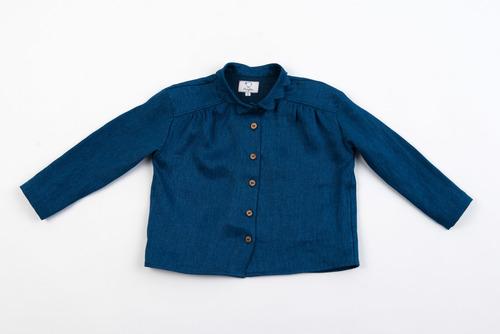 FUFA Джинсовый пиджак с волнистым воротником