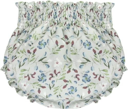 Bonnet a Pompon Блумеры с цветочным принтом