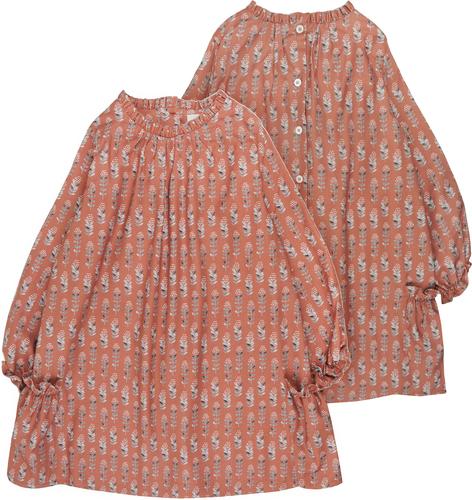 Bonnet a Pompon Платье с принтом