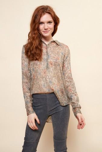 Mesdemoiselles  Paris Рубашка с принтом Garcie