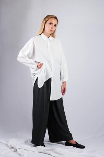 Mesdemoiselles  Paris Белая свободная рубашка