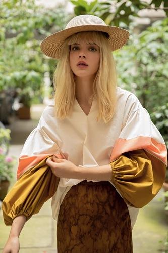 Mesdemoiselles  Paris Блуза с объемными рукавами