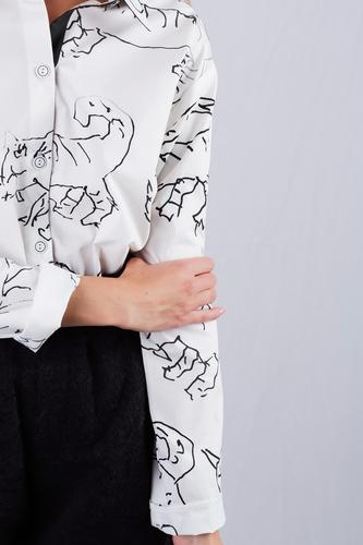 FUFA Рубашка с рисунком