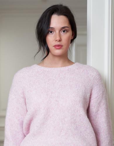 FUFA Шерстяной свитер ручной вязки
