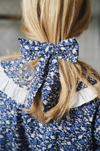 FUFA COTTON HAIR BOW