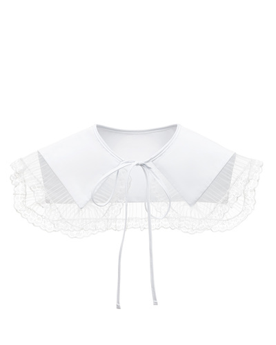 FUFA White lace collar