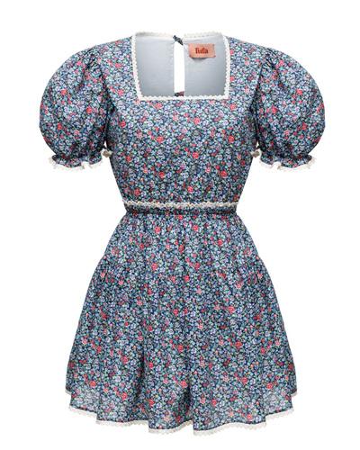 FUFA Blue fields dress